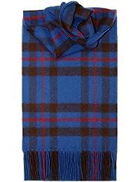 Lochcarron of Scotland, Écosse Elliot Tartan Écharpe en laine d agneau 74c00649ddf