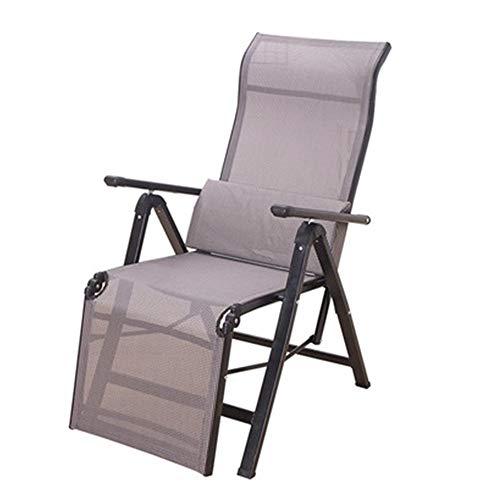 Folding chair Schwereloser Stuhl, Komfortabler Strandkorb Für Das Büro, Wasserdichter Liegestuhl Mit Schwereloser Rückenlehne, Zusammengeklappt 440 Pfund.
