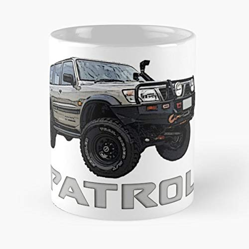 Nissan Patrol 4wd T Best Gift Ceramic Coffee Mugs Nissan Travel Mug