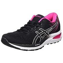 Asics GEL-Cumulus 22, Women's Running Shoes, Black/Pink Glo, 6.5 UK (40 EU)