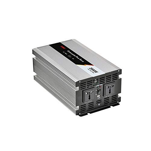 2000W Wechselrichter USV unterbrechungsfreie Stromversorgung Solarkonverter PV-Wechselrichter Lade integrierte Maschine (DC 24V to AC 220V)