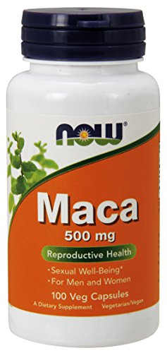 Now Foods - Maca - 500 mg 100 Capsules