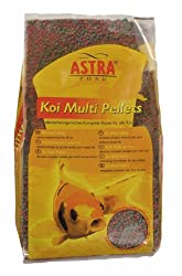 Astra Teichfischfutter Koi Multi Pellets 6 mm, 15 Liter