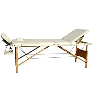 Table de massage reiki pliante pliable portable bois 3 - Table massage pliable ...