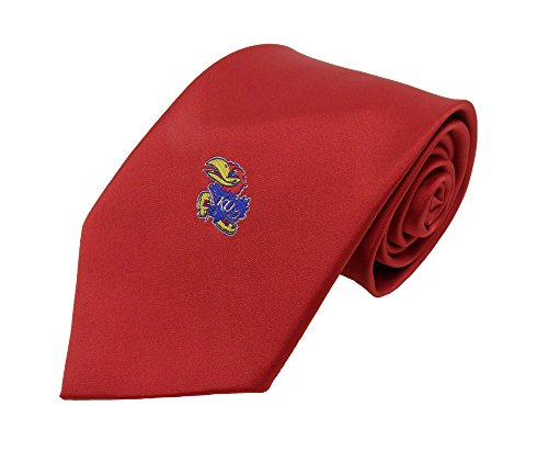 Donegal Bay NCAA Kansas Jayhawks rot massiv Krawatte, blau, One size