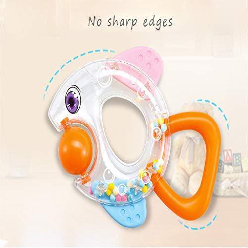 jieGREAT  Baby - Beißring Räumungsverkauf  , ABS Freezer Safe Beißring Sensory Toy für 0 bis 12 Monate Babys