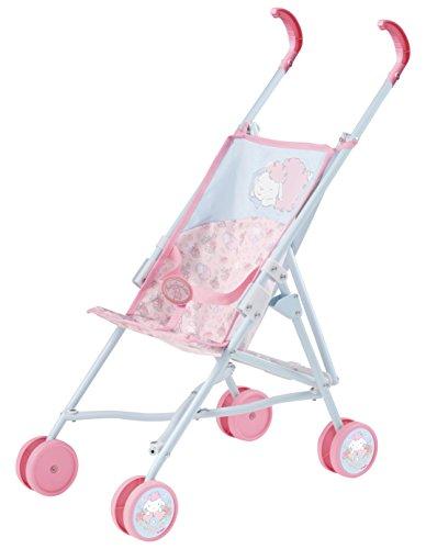 Zapf Creation 700471 - Baby Annabell Stroller, Code, hellblau/rosa