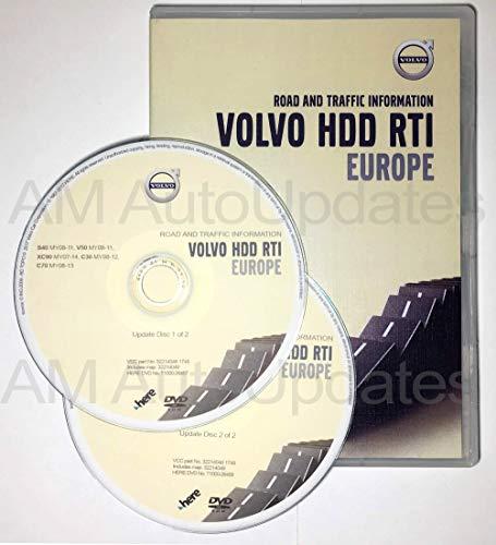 Preisvergleich Produktbild Update Map Volvo RTI (MMM+) - HDD Europa Version 2018 DVD1 + DVD2 / 32214046