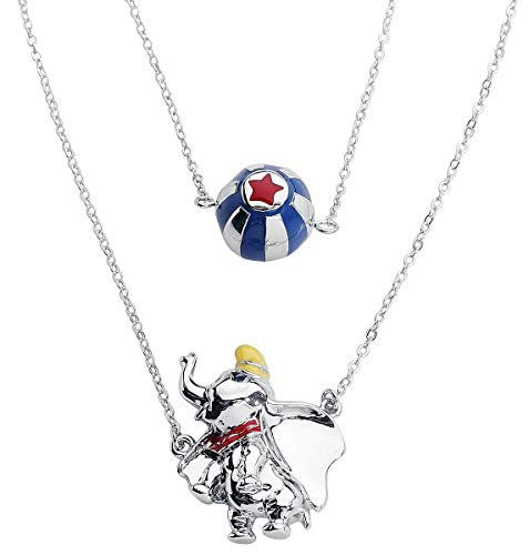 Dumbo Disney by Couture Kingdom - Circus Ball Layered Necklace Halskette silberfarben - Schmuck Disney Couture