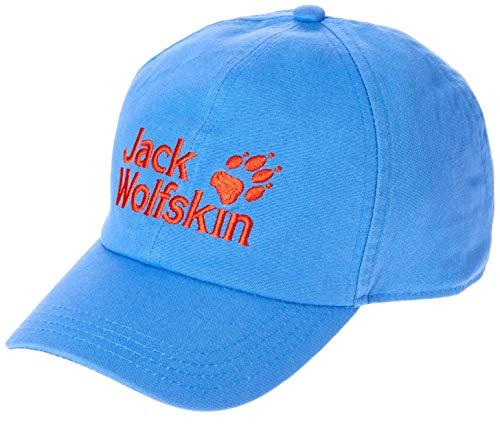 Jack Wolfskin Kinder Baseball Kappe Wave Blue, One Size (49-55CM) -