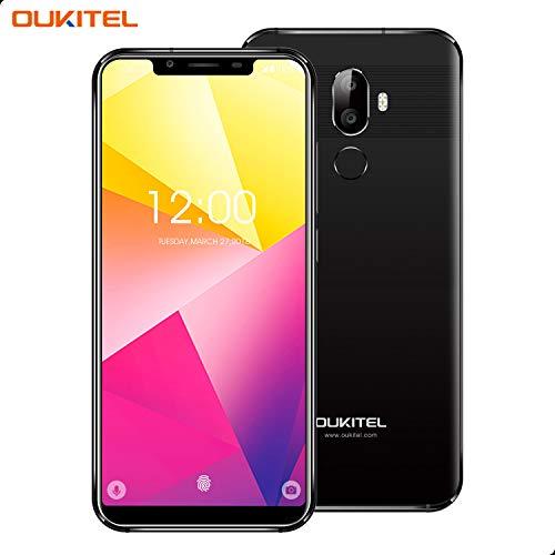 OUKITEL U18 – Smartphone Libre DE 5.85' 21:9 HD + Notch Pantalla SIM Doble,Octa-Core 4 + 64 GB, 4000 mAh Batería,...