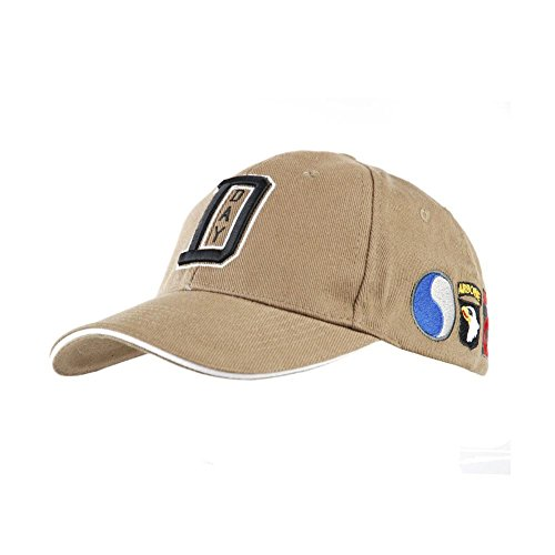 D-Day BASEBALL CAP WW II US Army Normandie Frankreich USA Amerika Zweiter #17211 (Normandie-caps)