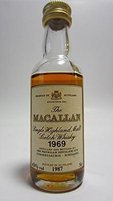 Macallan - Highland Malt Scotch Miniature - 1969 18 year old