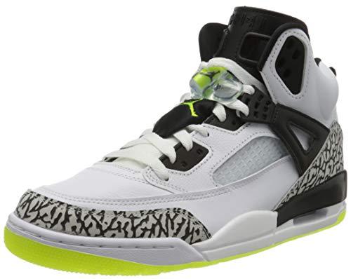 Nike Jordan Spizike, Zapatillas de básquetbol para Hombre, White Volt Black, 47.5...