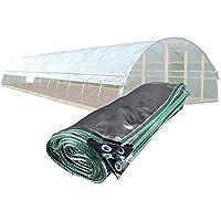 WZNING Lluvia y Polvo Resistente a la Planta de Lona Transparente Aislamiento de la Planta Soft PVC Transparente película de Metal Outdoor Patio Toldo, 33 Tamaños Durable y Protector
