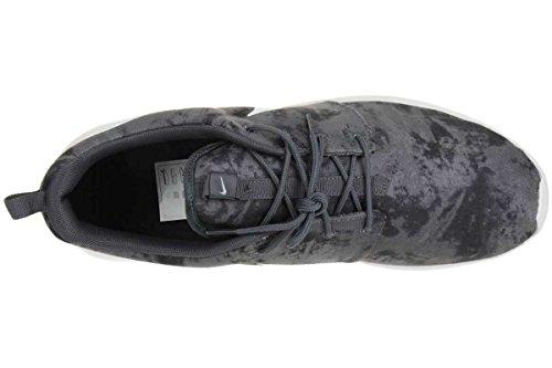 Nike Herren Roshe One Print Laufschuhe Dunkelgrau-Weiß