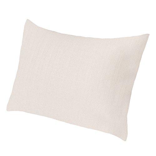 Extra großes Sofakissen von Salosan®. Lounge- und Rückenkissen, Kopfkissen, Dekokissen. Größe ca. 60x80 cm. Farbe: (Beige) - Großes Sofa-kissen