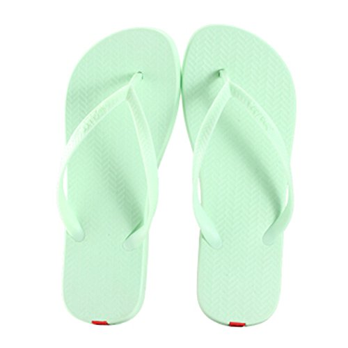 Casual Tongs Unisexe Plage Chaussons Anti-Slip Maison Slipper Vert