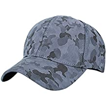 Gorras de béisbol para Hombres y Mujeres, Gorra de Trucker Simple Transpirable Bordado Vaquero Sombrero