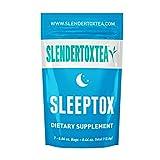 Slendertoxtea - 14 Tage Sleeptox (Gewichtsverlust Tee , Diät Tee, Schlankheits- Tee und Fett verbrennen Tee) Diätergänzung, Detox & Grüner Tee …