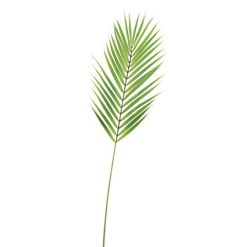 Artplants Palma de bambú Artificial Emilio con 33 Hojas, Verde, 75cm - Fronda/Rama Decorativa