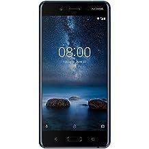 "Nokia 8 4G 64GB Blue - Smartphones (13.5 cm (5.3""), 64 GB, 13 MP, Android, 7.1.1, Blue)"