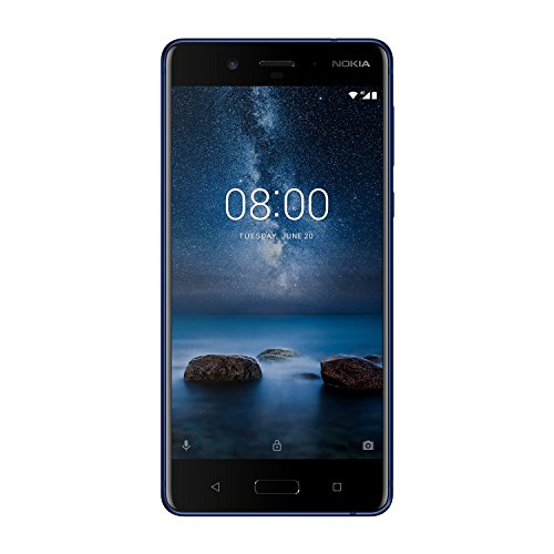 "Nokia 8 4G 64GB Azul - Smartphone (13,5 cm (5.3""), 64 GB, 13 MP, Android, 7.1.1, Azul)"