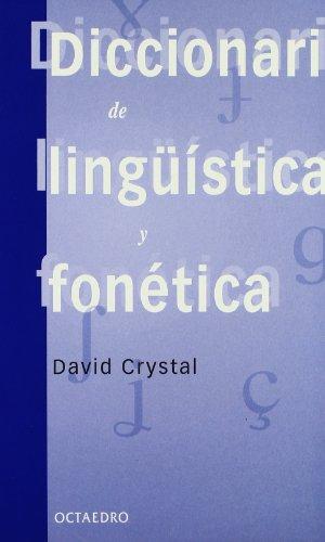 Diccionario de lingüística y fonética (Filología)