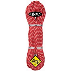 BEAL C086.602 - Cuerda de escalada, color blanco (orange/anis), talla 8,6 mm 2 x 60 m