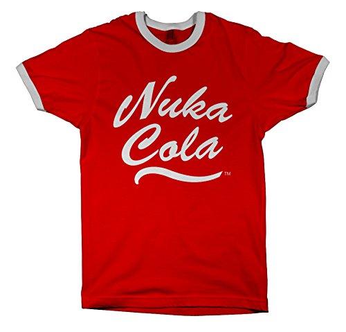 T-Shirt Fallout - Nuka Cola [rot, M] [Edizione: Germania]