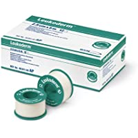 Leukoderm Rollenpflaster 1,25 cm x 5 m 24 Rollen preisvergleich bei billige-tabletten.eu