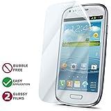Celly 2x Invisible Film de protection pour Samsung Galaxy S3Mini