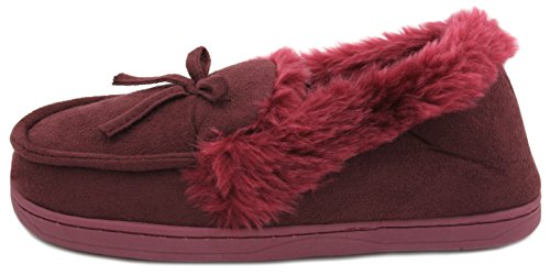 SlumberzzZ , Chaussons pour femme Rouge