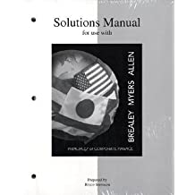 Solutions Manual to Accompany Principles of Corporate Finance (McGraw-Hill Series in Finance)
