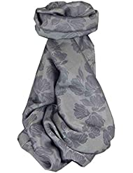 Foulard de Soie Réversible Vietnamienne Hoi-An Silk Weave Yen-Phu Pearl par Pashmina & Silk