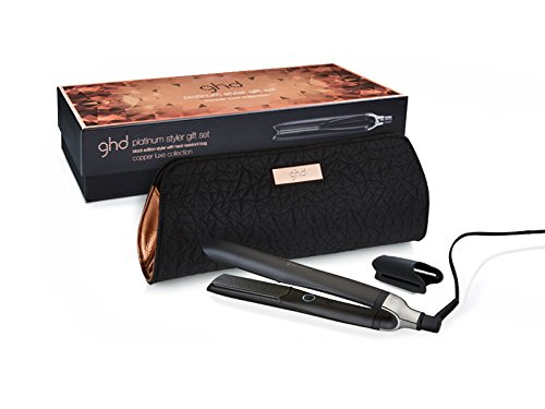 Ghd Copper - Plancha para el pelo, tecnologia tri-zone, color negro