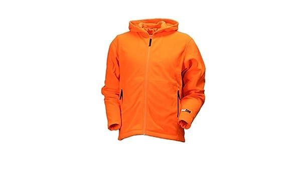 93a019aaefbfc Gamehide Unisex Deer Camp Woodland Fleece Full Zip Hoodie, Blaze Orange:  Amazon.co.uk: Sports & Outdoors