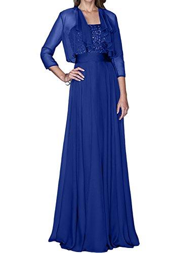 Ivydressing Damen Elegant Neu Royalblau Brautmutterkleider 2017 ...
