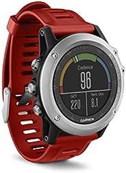Garmin Fenix 3 Smartwatch GPS Multisport, Display a Colori, Altimetro Barometrico e Bussola Elettronica, Argen