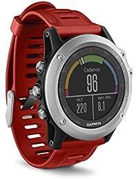 Garmin 010-01338-06 Fenix 3 GPS Multisport Watch with Outdoor Navigation - Silver
