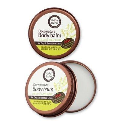 Happy Bath, Deep Nature Body Balm (33g, Sensitive skin, Multi Body Balm, highly moisturizing, skin care, nutrition, shea butter) [001KR]