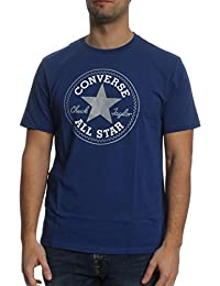 Converse T-Shirt Men CORE CHUCK PATCH 10002848 Royalblau 441