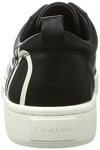 Calvin Klein Damen Danya Cow Silk with Print Logo Sneakers Mehrfarbig (Bwy)