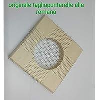 ACCESSORIO TAGLIA PUNTARELLE VERDURA IN LEGNO CM 9 X 9 FORO DIAM 5