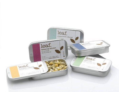 Tea gifts: 6 mini herbal infusion tins taster set