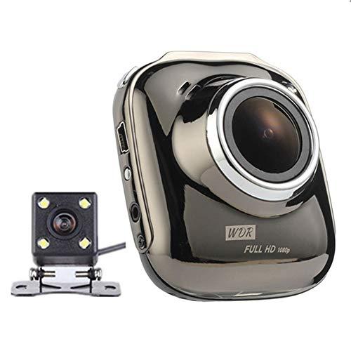 HUIGE Autokameras Dash Cam-Car Driving-DVR-Kamera, HD 1080P Integrierte G-Sensor Loop-Aufnahme-Bewegungserkennung