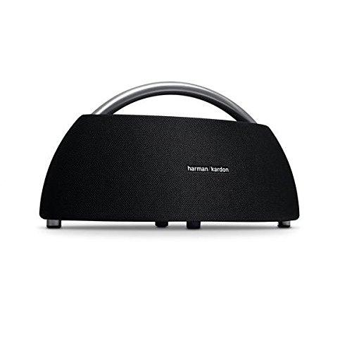Harman-Kardon Go + Play Tragbarer Bluetooth Lautsprecher (mit Dual-Mikrofon-Konferenzsystem) schwarz (Bluetooth-lautsprecher Harman Kardon)