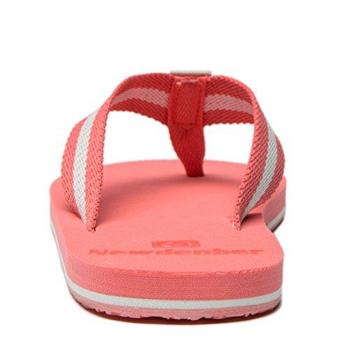 NewDenBer NDB Classic Plush Unisex-Erwachsene II Sandalen Rosa(Pink)