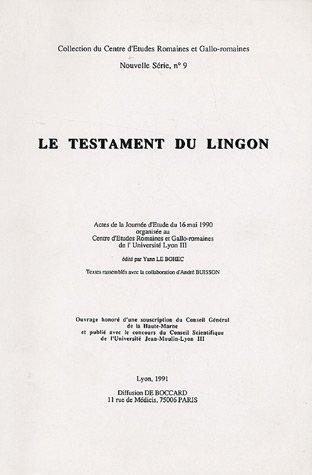 Le Testament du Lingon