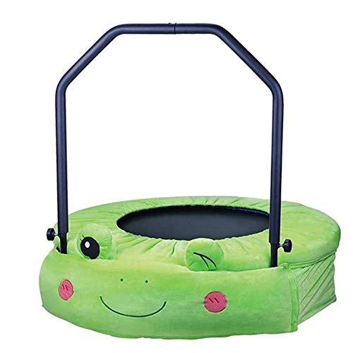 QYF Gartentrampoline Mini-Trampoline 38 Zoll Nette Folding Eignung for Kinder |Ruhig und sicher Bounce |Haushalt Sprungmatte for die Ausbildung Training Fitnesstraining